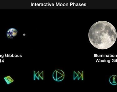 Interactive Moon Phases
