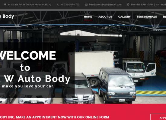 B And W Auto Body