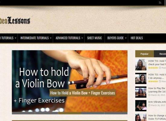 Violin Video Lessons
